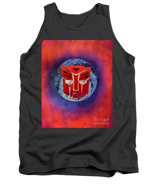 The Transformers Tank Top by Justin Moore