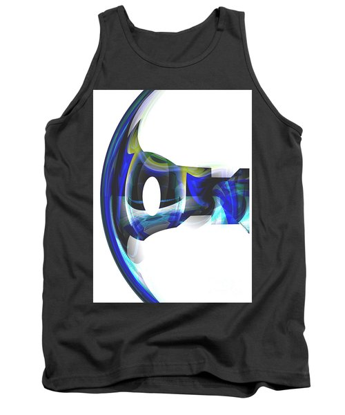 The Transparency Bow Tank Top by Thibault Toussaint