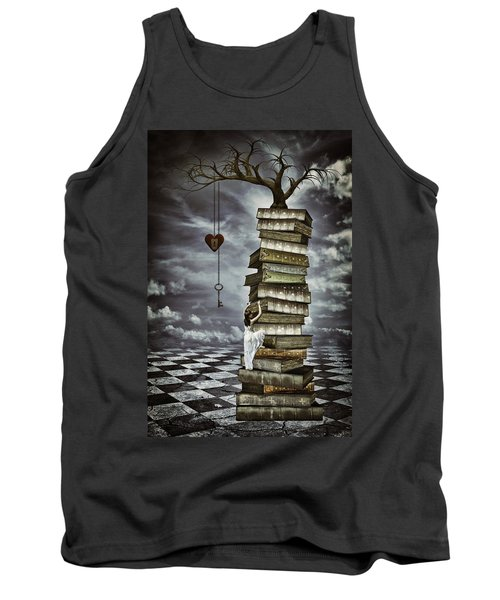 The Tree Of Love Tank Top by Mihaela Pater