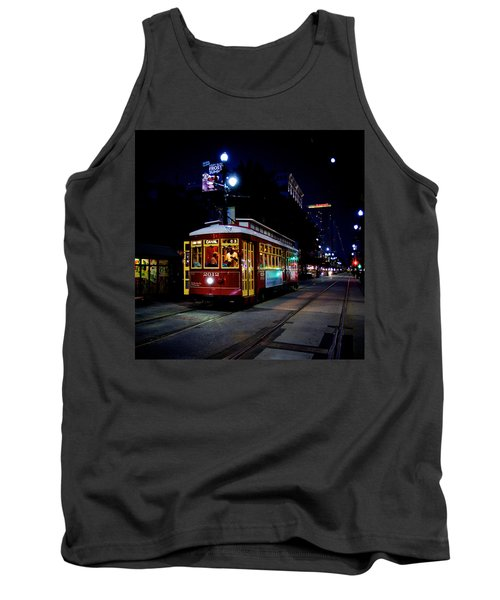 Tank Top featuring the photograph The Trolley by Evgeny Vasenev