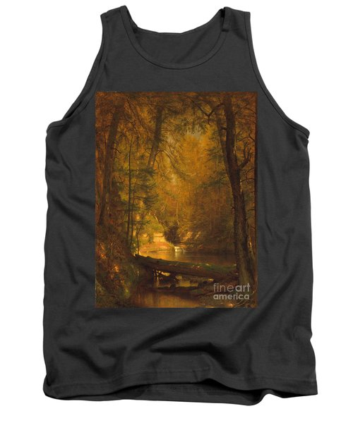Tank Top featuring the photograph The Trout Pool by John Stephens
