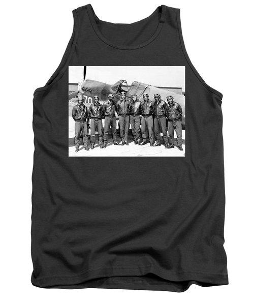 The Tuskegee Airmen Circa 1943 Tank Top
