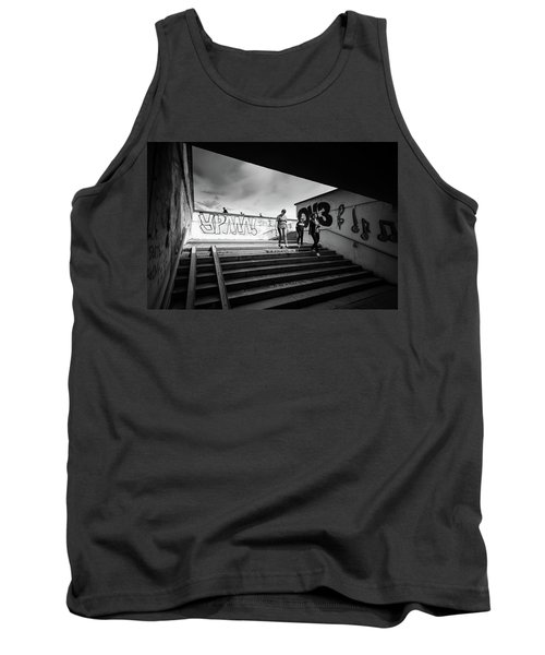 The Underpass Tank Top by John Williams