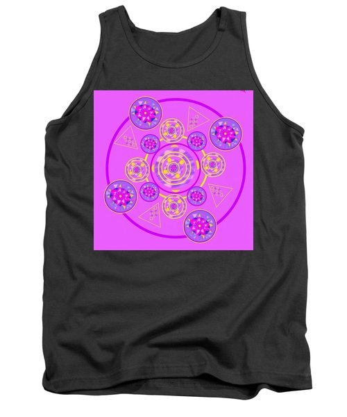 The Universal Spin Of Violet Tank Top