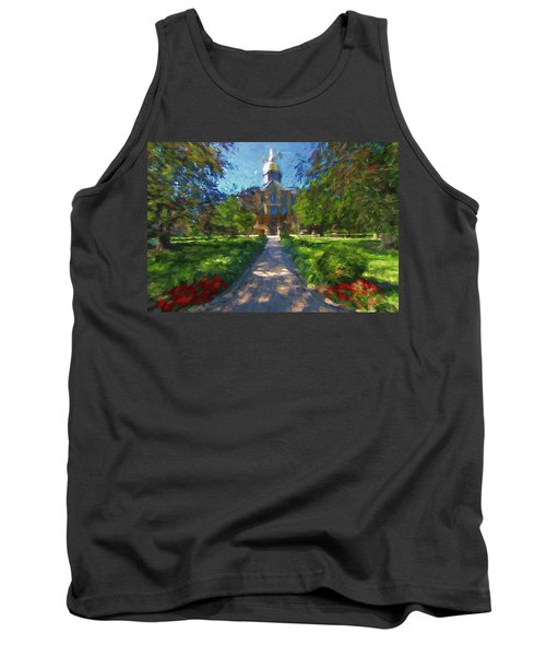 The University Of Notre Dame Tank Top