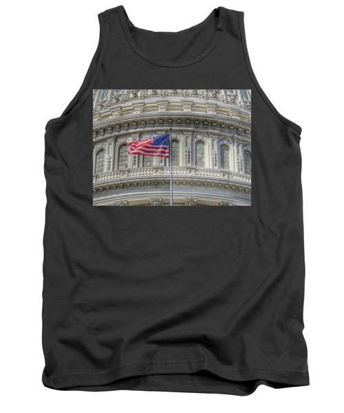 The Us Capitol Building - Washington D.c. Tank Top
