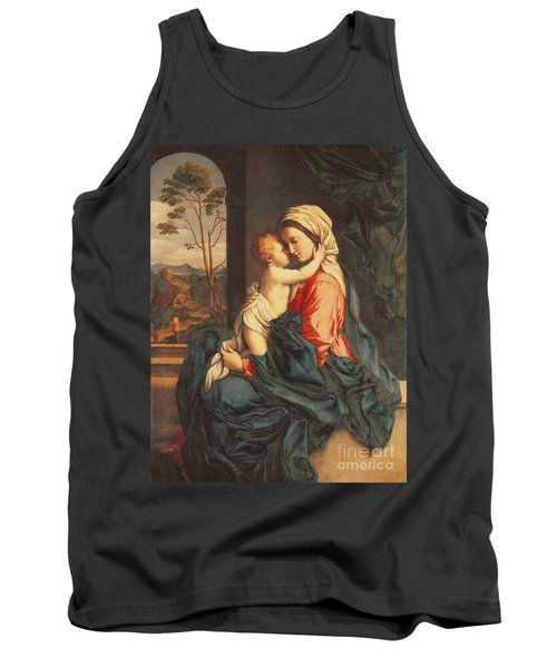 The Virgin And Child Embracing Tank Top