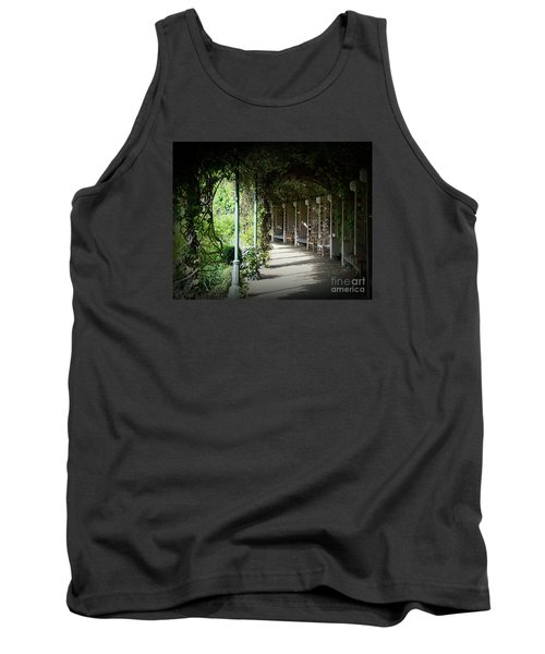Tank Top featuring the photograph The Walkway by Lisa L Silva