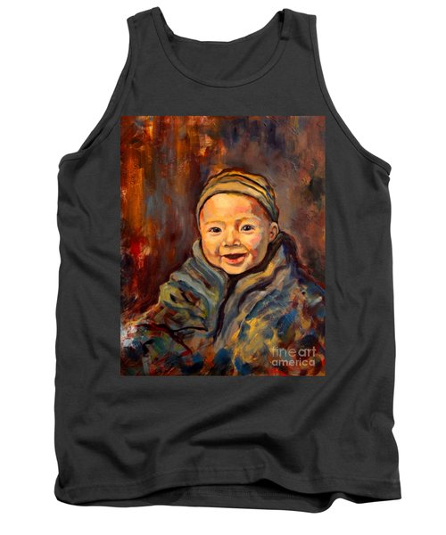 The Warmth Of Winter Tank Top