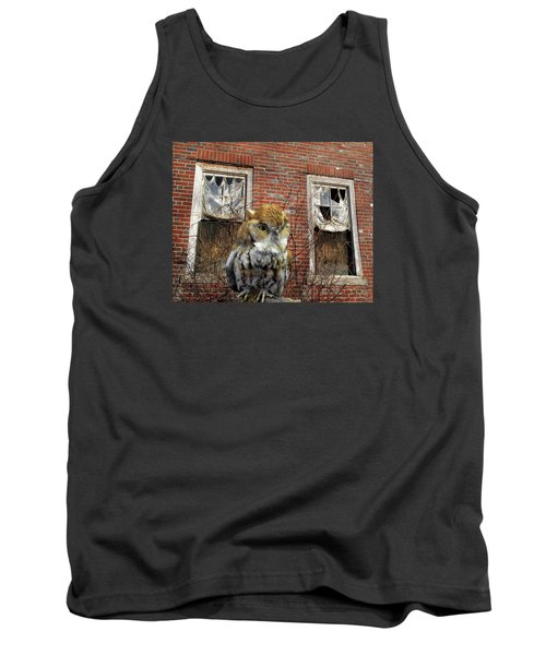 Tank Top featuring the photograph The Watch by Lynda Lehmann