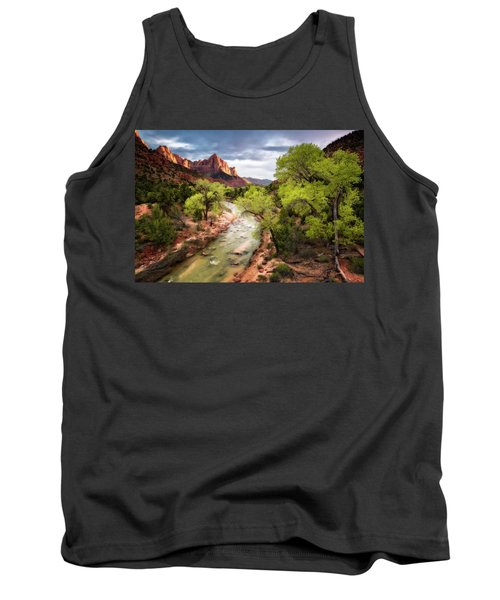 Tank Top featuring the photograph The Watchman by Eduard Moldoveanu