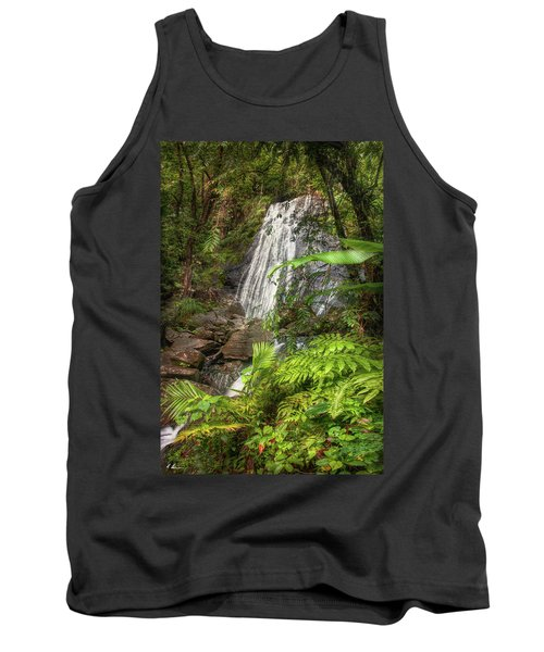 Tank Top featuring the photograph The Waterfall by Hanny Heim