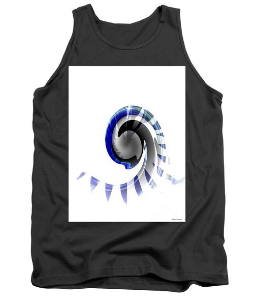 The Wave Tank Top by Thibault Toussaint