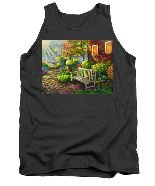 Tank Top featuring the painting The Way Home by Emery Franklin