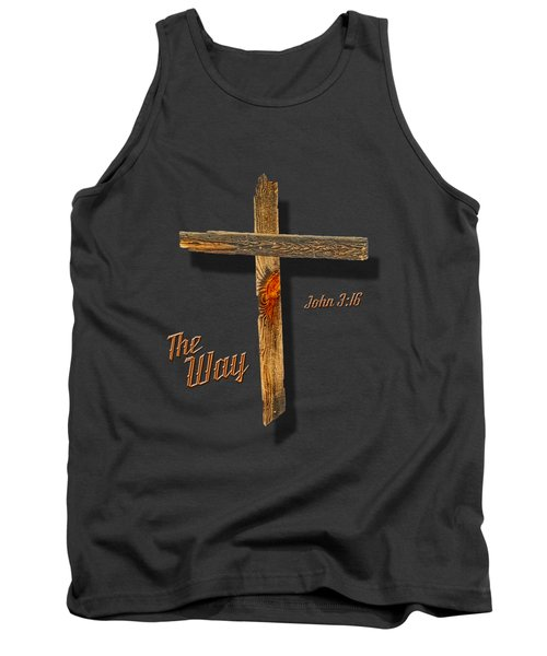 The Way  T Shirt Tank Top by Larry Bishop