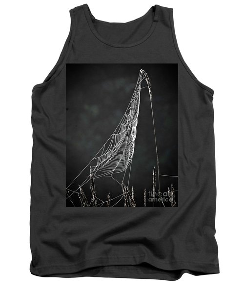 The Web Tank Top by Tom Cameron