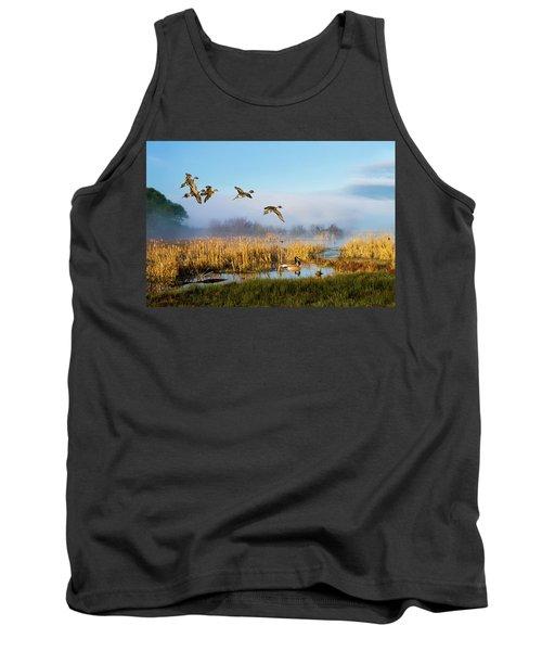 The Wetlands Crop Tank Top