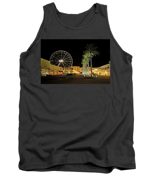 The Wharf At Night  Tank Top