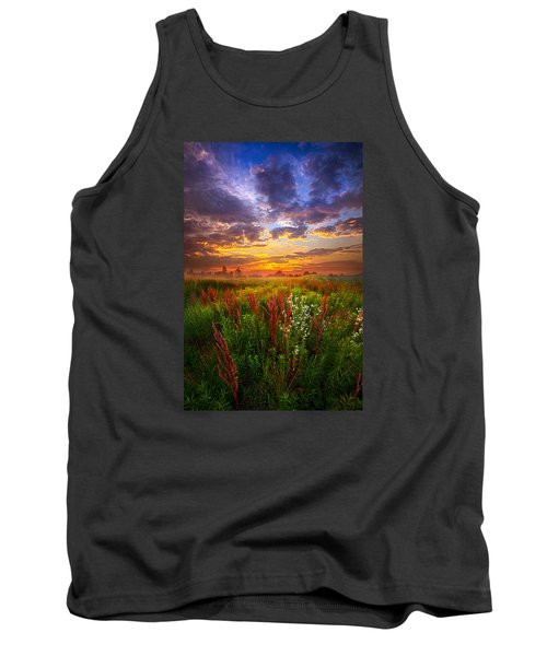 The Whispered Voice Within Tank Top by Phil Koch