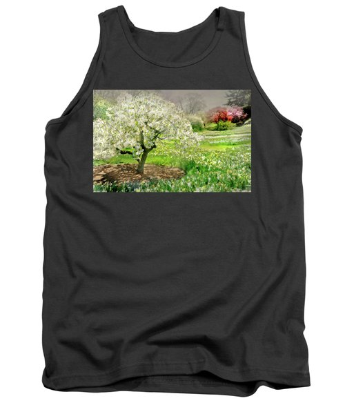 Tank Top featuring the photograph The White Canopy by Diana Angstadt