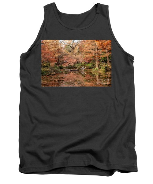 The White Ladder Tank Top by Iris Greenwell