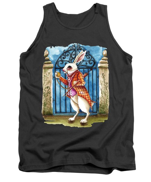 The White Rabbit Late Again Tank Top