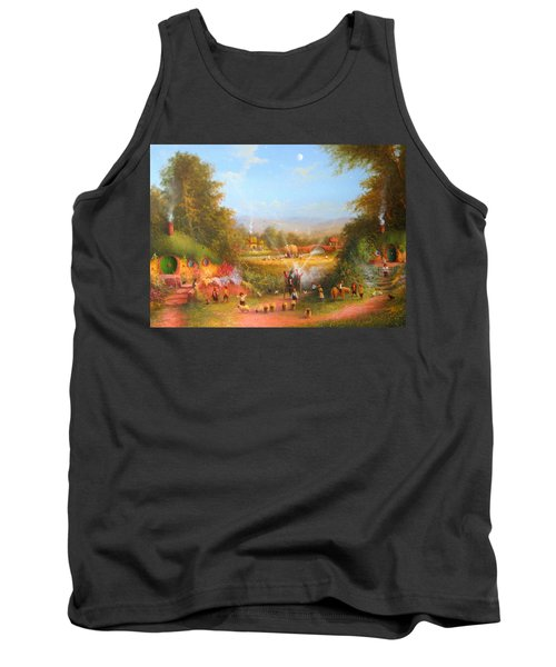 Fireworks In The Shire. Tank Top