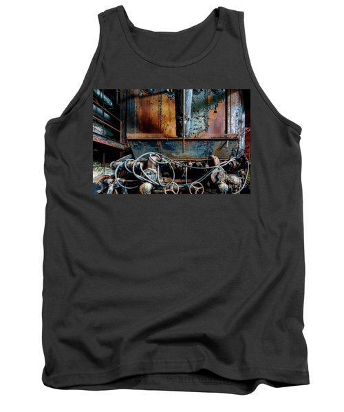The Wizard's Music Box Tank Top