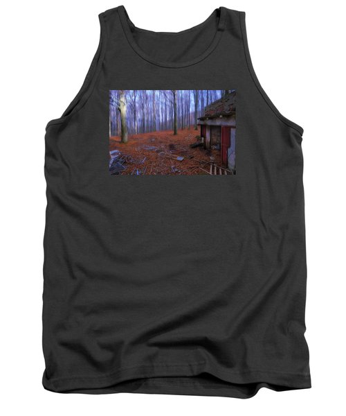 The Wood A La Magritte - Il Bosco A La Magritte Tank Top