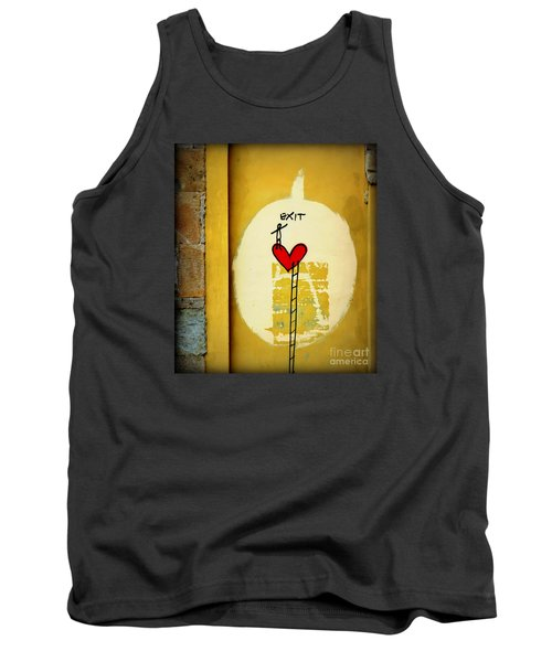 The Writing On The Wall Tank Top by Tanya Searcy