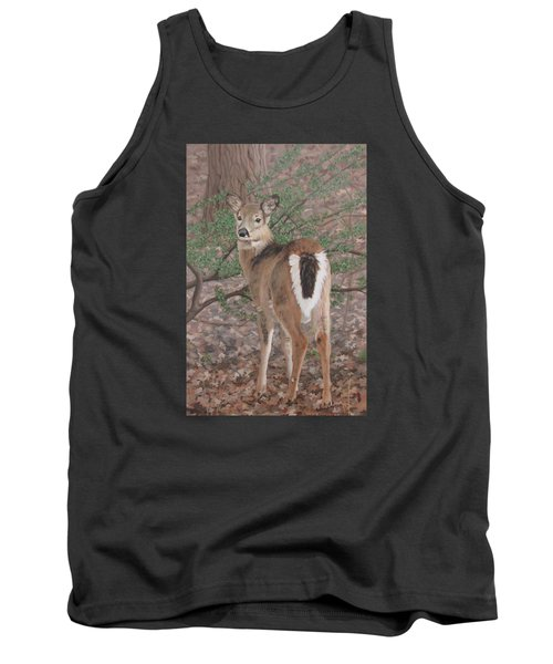 Tank Top featuring the painting The Yearling by Sandra Chase