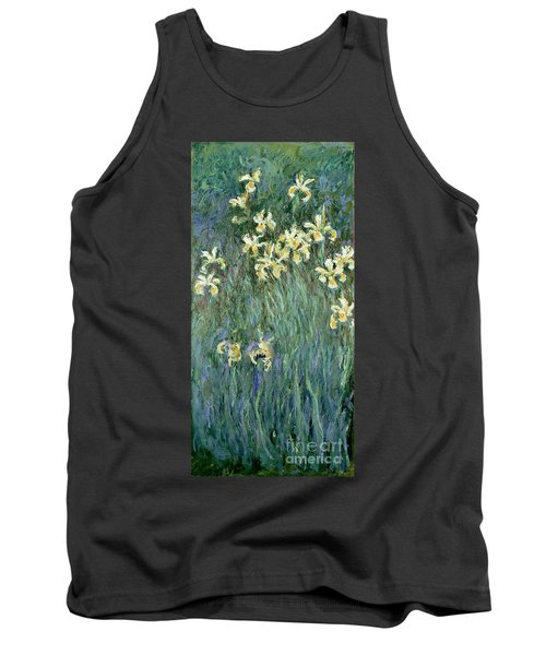 The Yellow Irises Tank Top