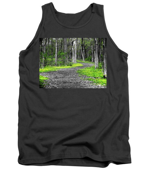 The Yellow Marsh Marigolds Of Spring Tank Top