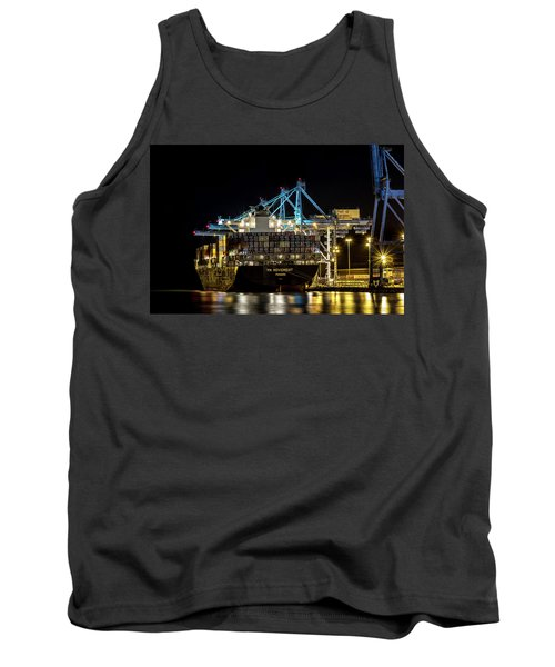 The Ym Movement Panama Unloading In The Port Of Tacoma Tank Top