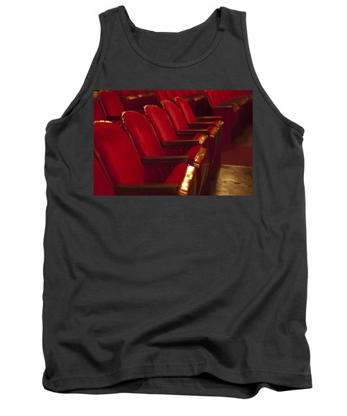 Theater Seating Tank Top by Carolyn Marshall