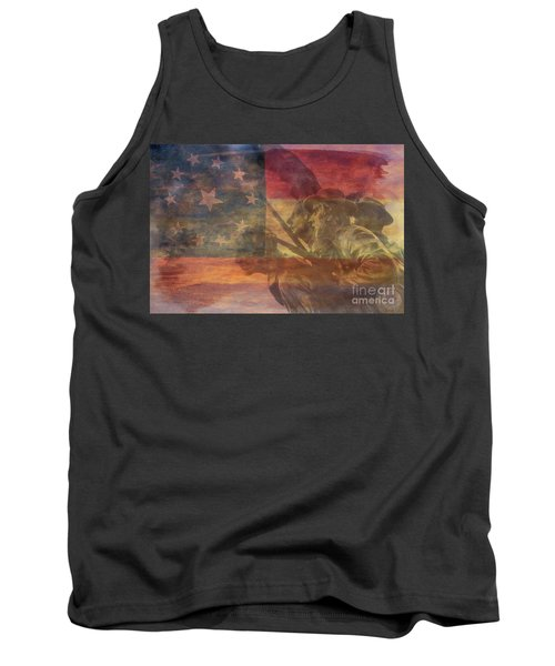Their Final Charge At Gettysburg Tank Top