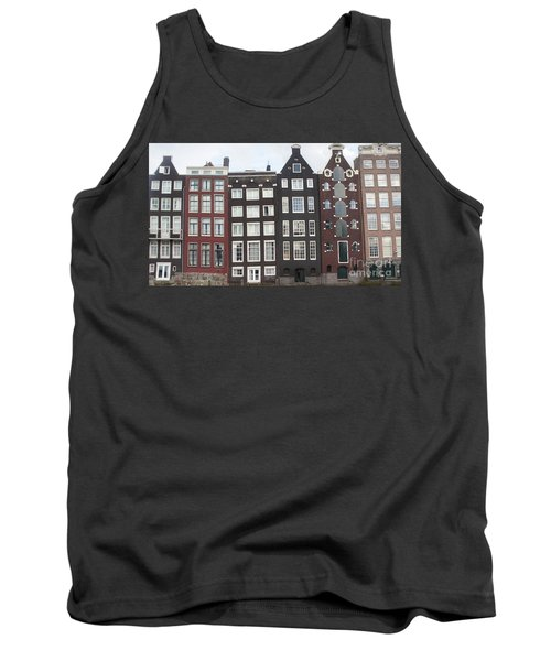 There Was A Crooked House Tank Top by Therese Alcorn