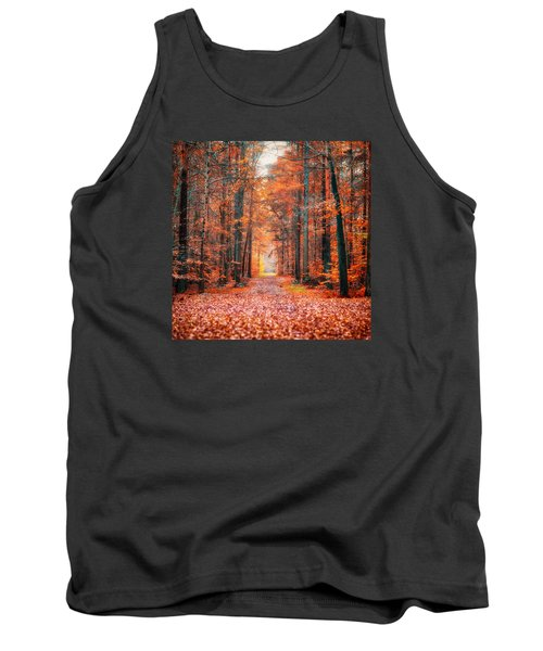 Tank Top featuring the photograph Thetford Forest by James Billings