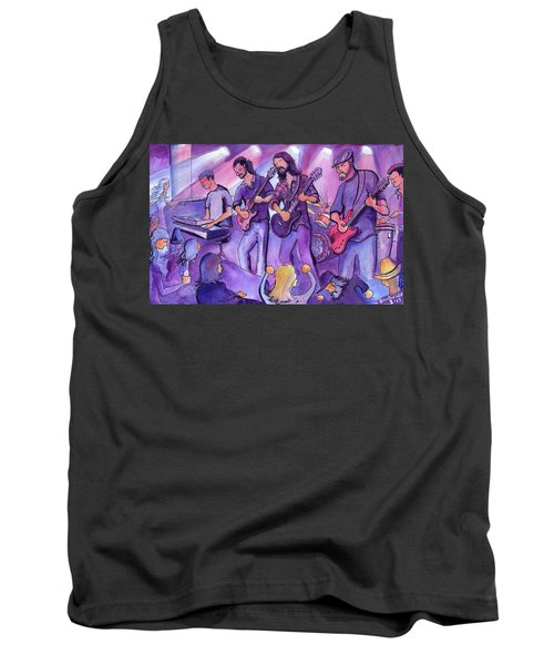 Thin Air At The Barkley Ballroom In Frisco, Colorado Tank Top