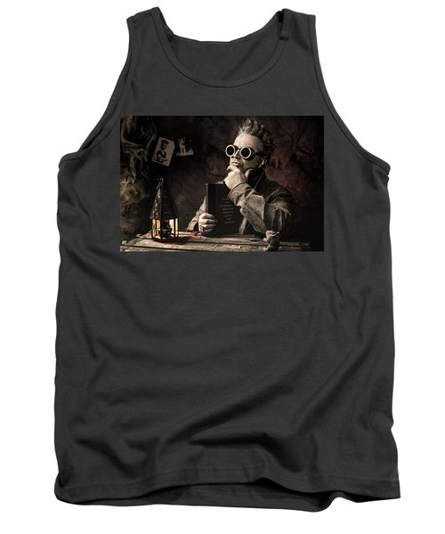 Things To Consider - Steampunk - World Domination Tank Top