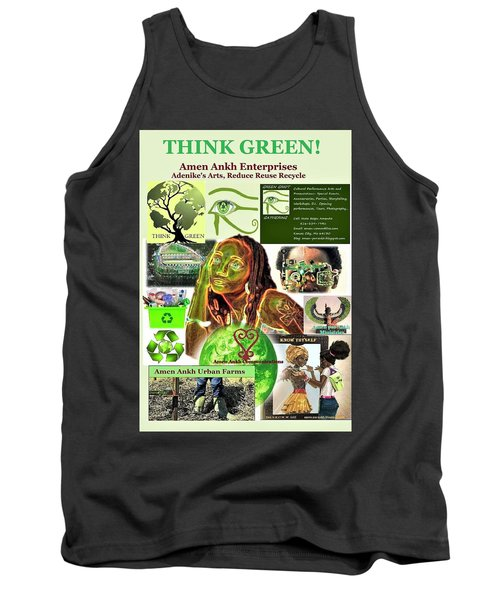 Think Green Tank Top