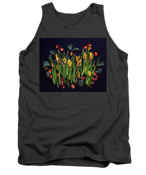 Think Spring Asparagus Tank Top