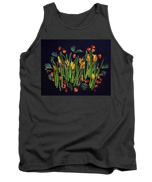 Think Spring Asparagus Tank Top