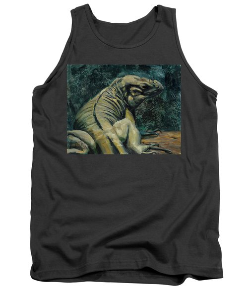 Tank Top featuring the painting This Is My Good Side by Billie Colson