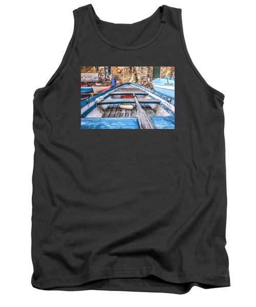 Tank Top featuring the photograph This Old Boat by Brent Durken