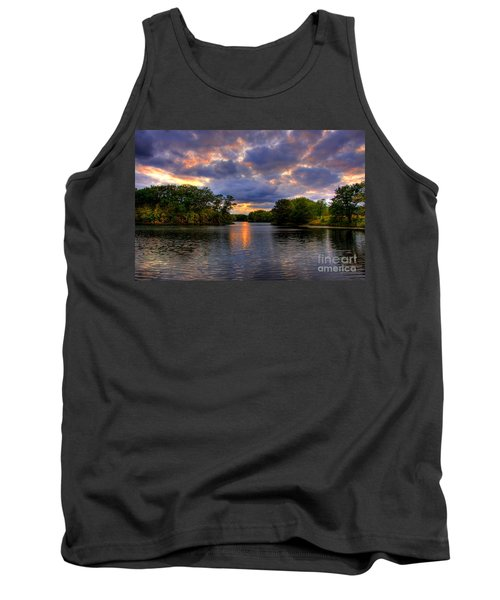 Thomas Lake Park In Eagan On A Glorious Summer Evening Tank Top
