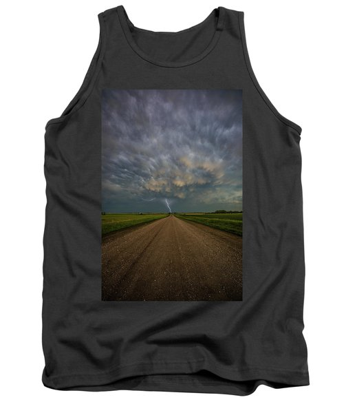 Tank Top featuring the photograph Thor's Chariot  by Aaron J Groen