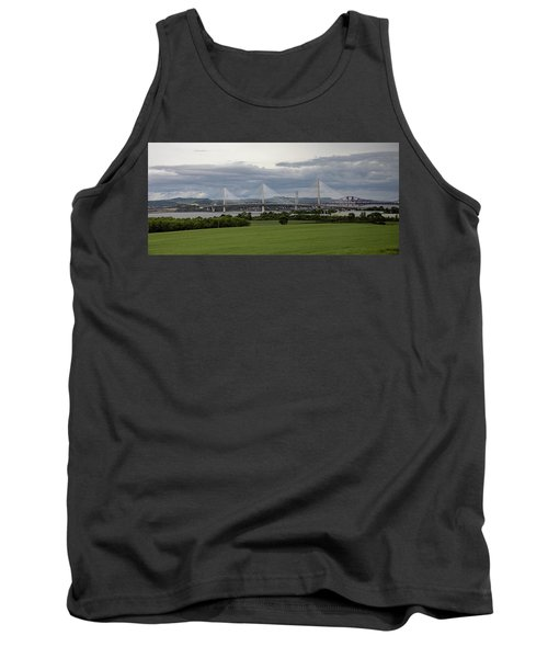 Three Bridges Over The Forth Tank Top