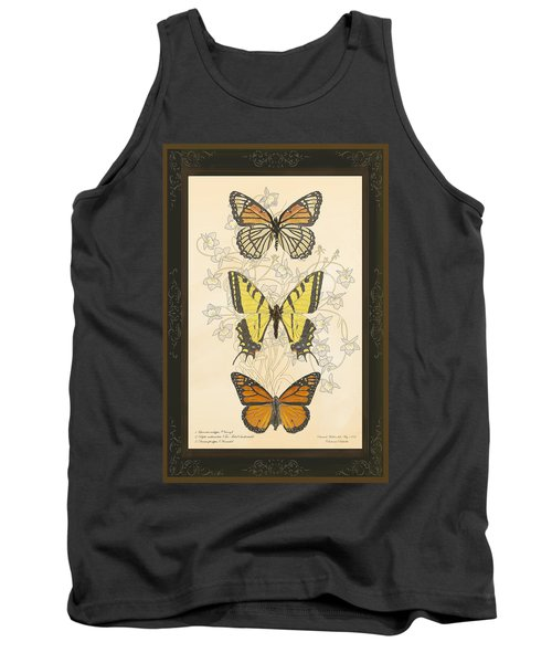 Three Butterflies Tank Top