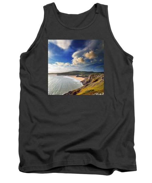 Three Cliffs Bay 1 Tank Top